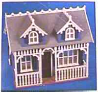 Artply Tiffani Model Dollhouse Kit 1988